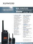 Walkie-Kenwood-NX220E-NX220E2-NX220E3