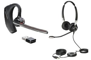 Auriculares con USB