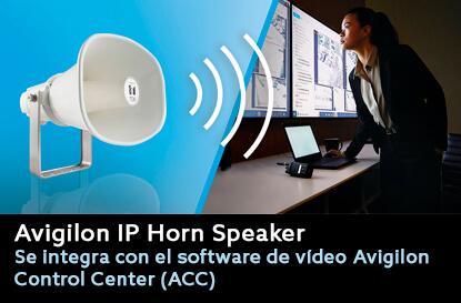 Avigilon-Altavoz-IP-imagen