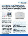 avigilon-sensor-presence-detector-apd-ES-pdf